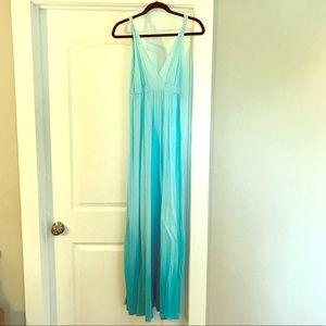 Gypsy 05 ombré cotton maxi dress. Classic.